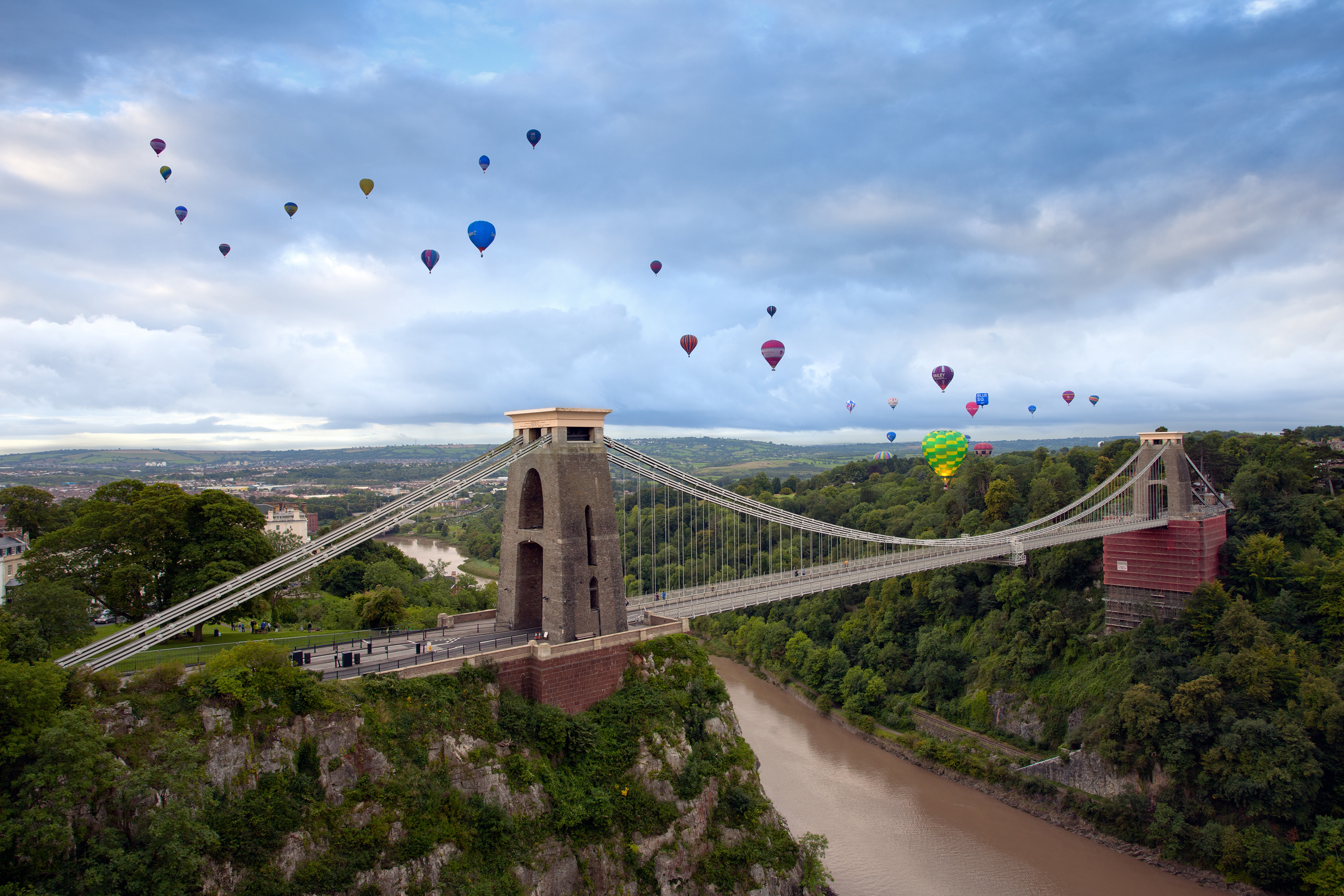 Hot Air Balloons And Banksy In Bristol Government Business