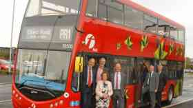 Electric double-decker bus trial in Leeds
