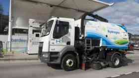 World's first hydrogen road sweeper in Aberdeen