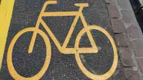 Online map for emergency walking and cycling infrastructure