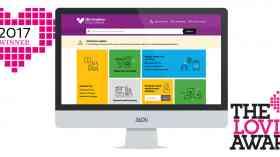 Lovie Awards for Birmingham City Council website