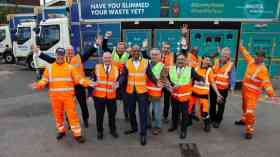 Bristol unveils new recycling fleet