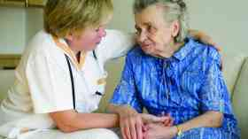Mandatory vaccinations for care home staff in England