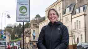 Charging Clean Air Zone launches in Bath