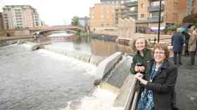 Two-step solution for flood protection in Leeds