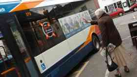 Annual bus journeys in England fall by 15 per cent