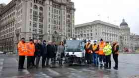 New electric street sweeper on trial in Liverpool
