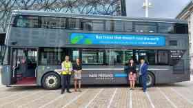 Birmingham showcases first hydrogen bus