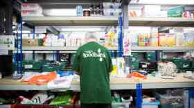 Food bank users having money taken for benefit payments
