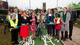£7.9m city centre cycle superhighway opens in Leeds