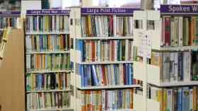 Nearly 130 public libraries have closed in the last year