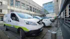 50 electric vans available for firms in Nottingham