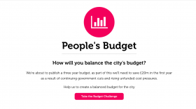 Newcastle launches online budget simulator