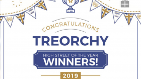 Rhondda Valley's Treorchy crowned best high street