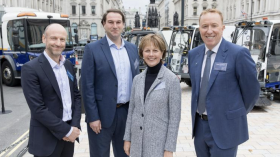Electric street cleansing fleet for Westminster